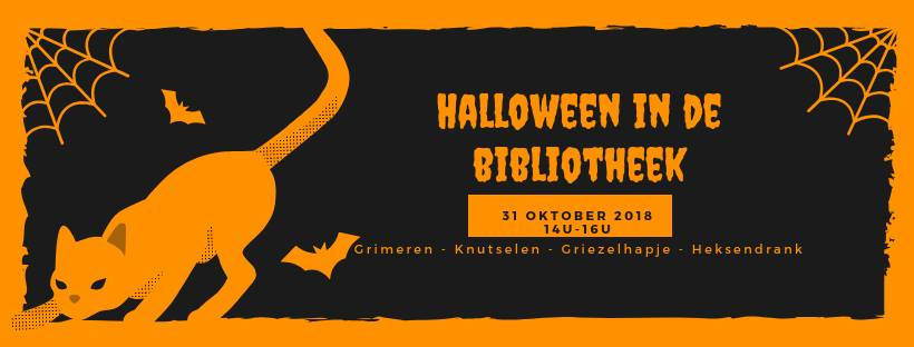 Halloween in de bib